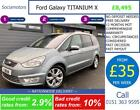 Ford Galaxy TITANIUM X 20 GOOD BAD CREDIT CAR FINANCE AVAILABLE