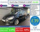 Ford S Max TITANIUM X SPORT 20 GOOD BAD CREDIT CAR FINANCE AVAILABLE