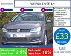 VW Polo 14 SE 14 GOOD BAD CREDIT CAR FINANCE FROM 33 A WEEK