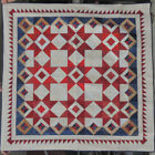 Red White and Ooh Quilt Kit featured in American Patchwork  Quilting 70x70