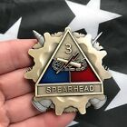 3rd Armored Division Spearhead USArmy Artillery 3D Challenge Coin