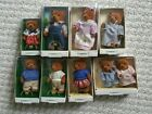 1986 Vintage Applause Teddy Bear Story Lot of 9