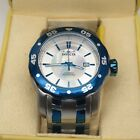 Invicta Automatic 16247 Blue  Brushed Mens Watch Master of the Ocean MOP Dial