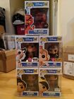 Funko Pop Disney Aladdin Series Entire Set Flocked and Chase Exclusives!!