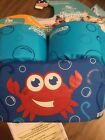 STEARNS PUDDLE JUMPER LIFE JACKET BLUE W RED CRAB KIDS 30 50 LBS CUTE NEW