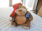 Vintage 1981 Applause 7 Egbert Baby With Santa Plush With Hanging Tags