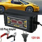 Intelligent 12v 20a 6a Automobile Lead Acid Battery Charger Smart Car Motorcycle