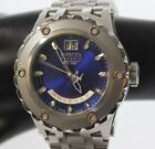 Invicta Men's 1583 Reserve Retrograde Blue Dial Stainless Steel Watch(1007518-5)