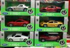 Diecast 143 Lot Welly Collection Car Toy Mercedes Honda Audi Bmw Porshe Mini