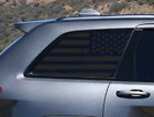 Distressed USA Flag Decals Rear window Fits Jeep Grand Cherokee quarter WK3