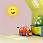 Happy Sun Wall Stickers Wall Decals For Kids Wall Decal Baby Wall Decor Decors