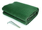NEW Green MAT Travel RV Patio Backyard Camping 6x9 Camper Rug Awning Outdoor