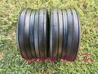 Two New 16x6.50-8 Deestone D837 Smooth Rib Tire 4ply DS7221 Lawn Mower Garden