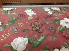 """54"""" Wide 100%cotton Drapery /light Upholstery Garden Images By Waverly Slight Ir"""