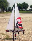 Monsoon Sailboat Needs Remote RC 24Ghz Model Boat RTR Six Foot Height