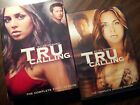 Tru Calling Complete Series Seasons 1  2 DVD GREAT SHAPE READ Eliza Dushku