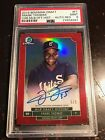 FRANK THOMAS PSA MINT 2016 Bowman Draft MLB Draft History Auto Red 5 5 ebay 1 1