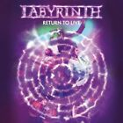 LABYRINTH RETURN TO LIVE + 1 JAPAN DVD + CD VISION DIVINE A PERFECT DAY