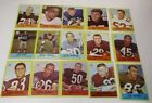 1967 Philadelphia Football Cards,76 cards with 8 Hall of Fame Players