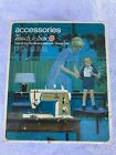 Singer accessories Touch and Sew.Special Zig-Zag machine/model 648