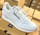 Reebok Classic Leather White Gum Sole Mens Shoes Fashion Sneakers Sizes