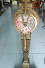 Ships telegraph on wooden stand Burmese antique now price reduced again to clear