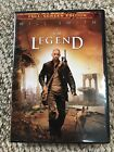 I Am Legend DVD Will Smith 2008 Apocalyptic Vampire Zombies