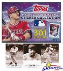 2017 Topps MLB Baseball Stickers MASSIVE Factory Sealed 50 Pack Box with 400 ...