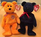 2 Ty UK Exclusives ~ SPARKS & CELEBRATIONS ~ Beanie Baby Bears ~ Mint