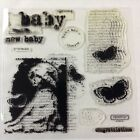 Baby acryllic rubber stamp set by My AcrylixMiracle Close to my Heart