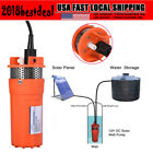 Durable 12V 30m Submersible Deep Well Water DC Pump Energy Solar Powered Pool US