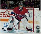 Carey Price Autographed 8X10 Photograph Montreal Canadiens