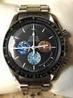 """Omega Speedmaster Professional """"From The Moon to Mars"""" Space Watch Swiss Rare!!!"""