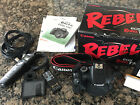 Canon EOS Rebel T2i EOS 550D 180MP Digital SLR Camera Body Only + Extras