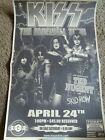 Kiss Concert newspaper advertisement flyer 2000 Great shape Full pageTed Nugent