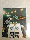 KEVIN DURANT KD GOLDEN STATE WARRIORS AUTOGRAPHED SIGNED 8x10 PHOTO
