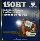 Husqvarna 150BT 50cc 2 Cycle 692CFM 251MPH Gas Backpack Leaf Blower New