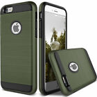 Ultra Slim Hybrid Shockproof Brushed Hard Case Cover For iPhone 4 4s Army Green