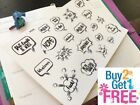 PP379 FUK YOU Snarky Adulting Is Hard Planner Stickers 4 Erin Condren 20pcs