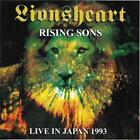 Lionsheart CD Rising Sons: Live in Japan rare OOP
