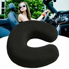 Soft Memory Foam U Shaped Travel Neck Head Support Pillow Black