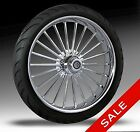 21 Harley Wheel ILLUSION Chrome Wheel Package by RC Components
