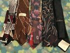"8 JOHNNY CARSON TIES/ "" KING OF LATE NIGHT TALK SHOWS""/THE TONIGHT SHOW 30 YEARS"