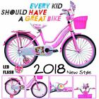 Children Luxurious Bike Bicycle For Boys  Girls Sizes 12 16 20 Adjustable