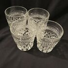 Set of 4 Anchor Hocking Wexford Highball Glasses Rock Tumblers