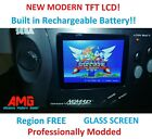 Sega Nomad MOD SERVICE TFT LCD Screen + Region free and SMS MOD + Caps+Glass