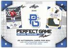 2015 Leaf Perfect Game National Showcase Factory Sealed 25 Hits Per Box