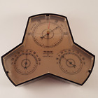 Vintage Texaco Oil & Gas Give-Away Barometer By Honeywell - Advertising Promo.