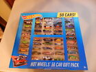 New Hot Wheels 50 Car Blitz Gift Set Basic Car Track Builders Pack