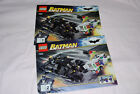 Lego Batman 7888 Batman Tumbler and Joker Ice Cream Surprise Manuals Only